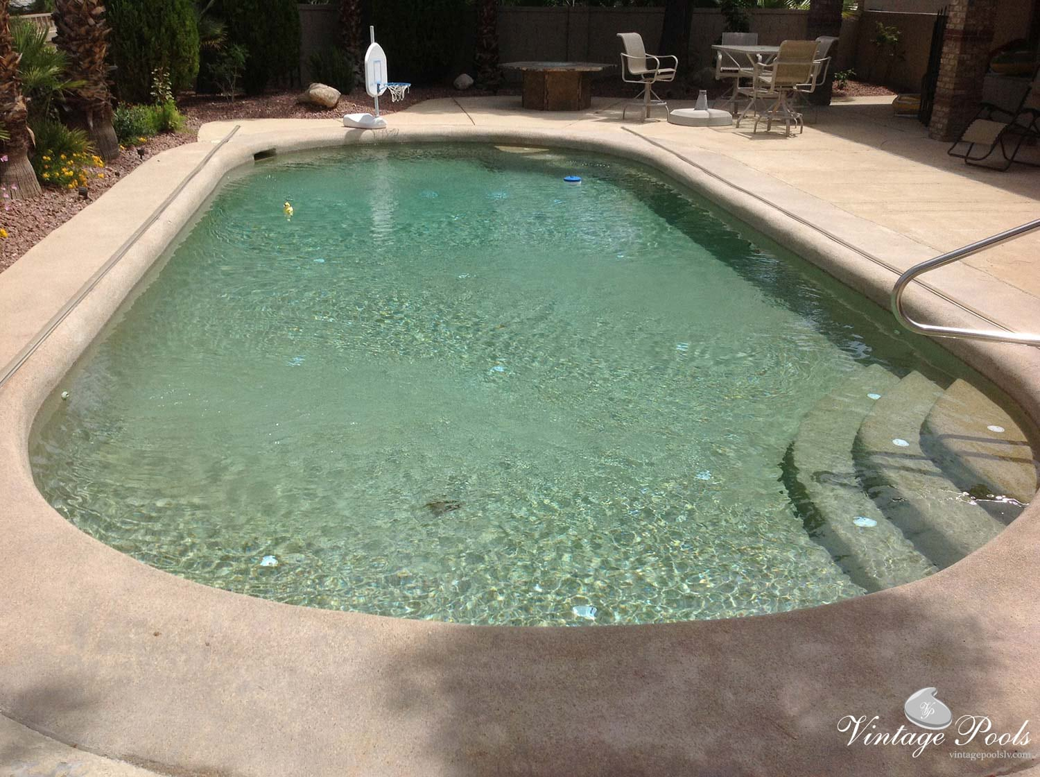 Vintage Pools Las Vegas Custom Swimming Pool Builder